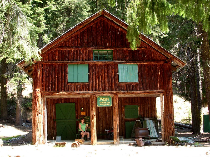 Hodges Cabin Trinity Alps Wilderness California