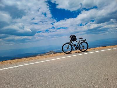Westbound 2021-Pike's Peak Solo Bike Ride to Summit