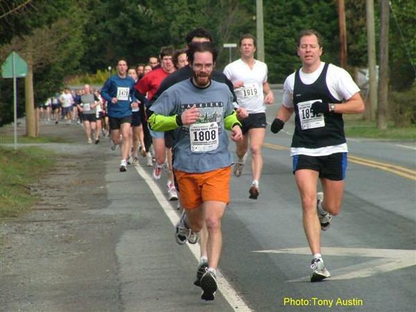 2004 Cedar 12K - Neal Beattie running his first race in a long time