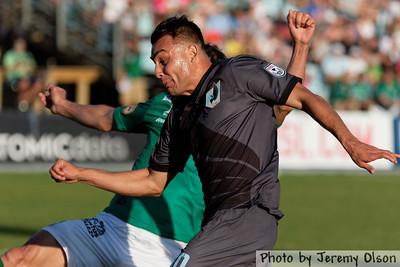 MN United FC vs León FC - July 2015