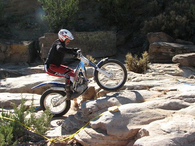 NMTA Trials Event at San Ysidro Trials Area  November 2005