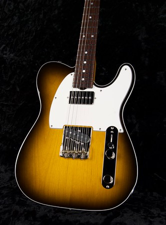 NOS Vintage T #3889, Top Binding Edge, 2 Tone Burst, Grosh G90H/T Pickups