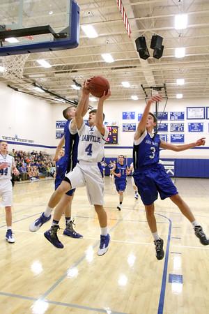 Boys Basketball, Holy Trinity vs Danville 12/4/2015