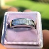 1.00ctw Baguette Half Eternity Band 10