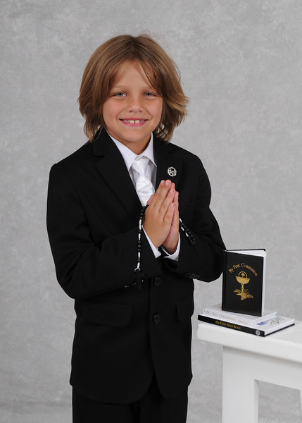 Louis - Communion Portraits
