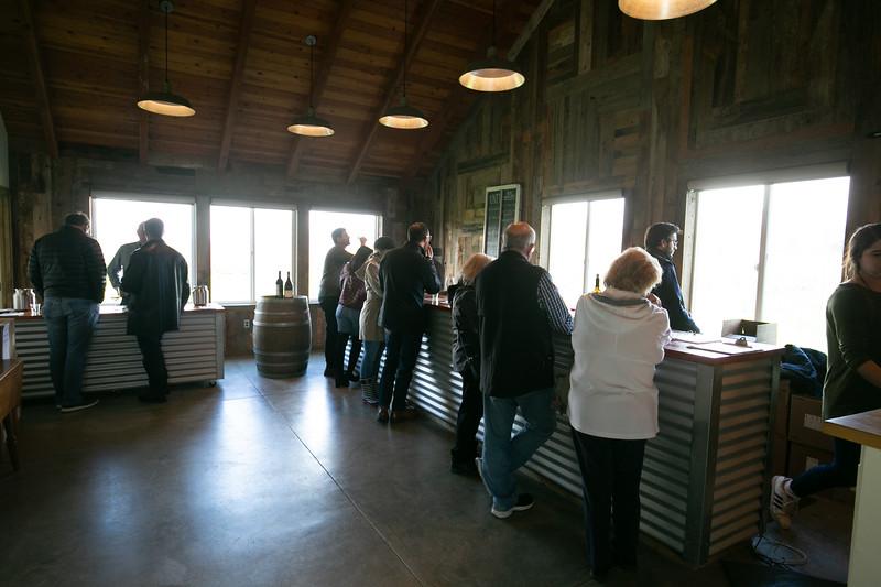 Unti Winery Tasting Room