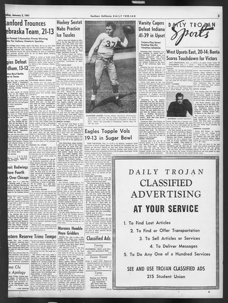 Daily Trojan, Vol. 32, No. 63, January 02, 1941