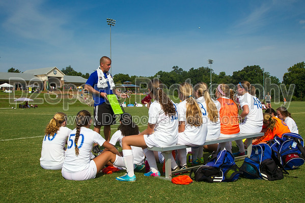 TCYSA 98 LADY TWINS WHITE vs 98 BSC CARDINAL G - U16 Girls 8/17/2014