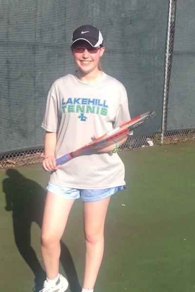 Varsity Tennis 2014-15