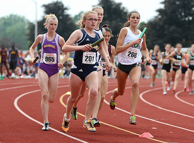NYSPHSAA Girls 400m and Relays 6-11-11