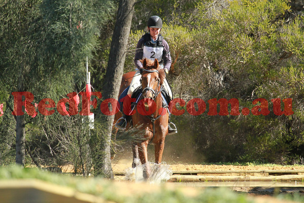 2012 08 26 Horsemens Pony Club 50th Anniversary ODE CrossCountry B Grade