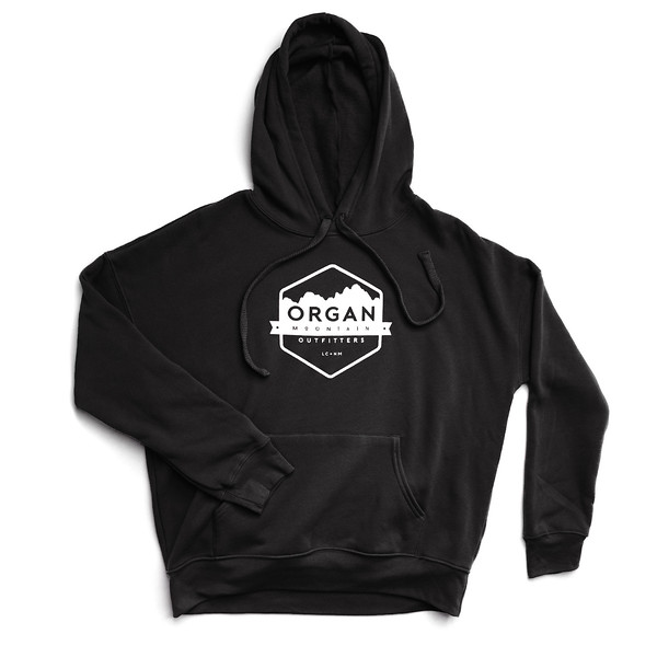 Organ Mountain Outfitters - Outdoor Apparel - Womens - Classic Fleece Pullover Hoodie - Black.jpg