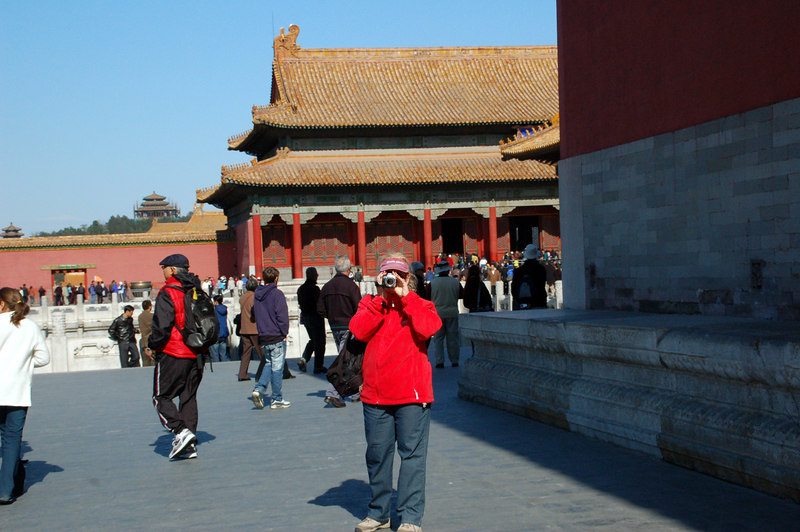 Forbidden City with Betty Beijing China
