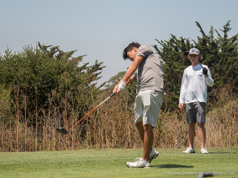 NDNU Practice at Crystal Springs Golf Course