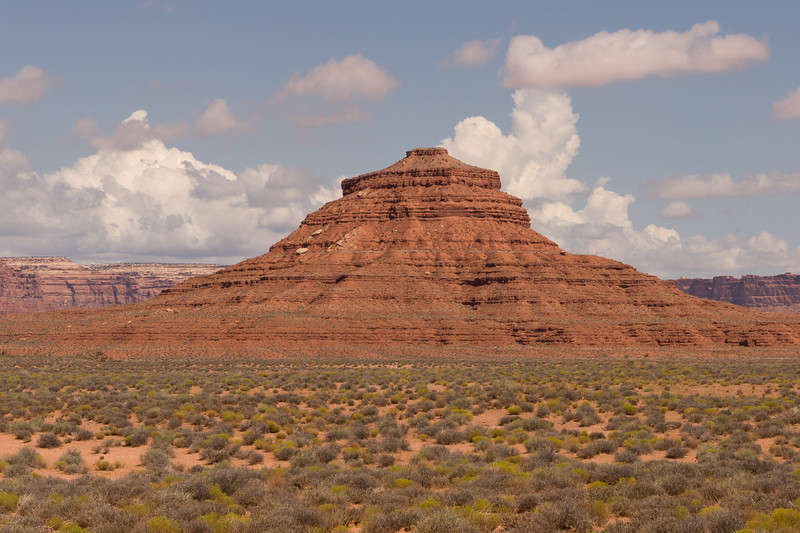 This is the Mexican Hat on Utah 261