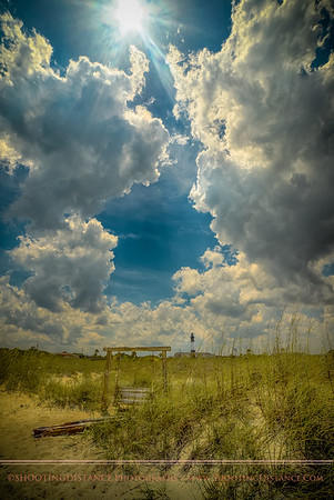 The dunes at Tybee Island, GA