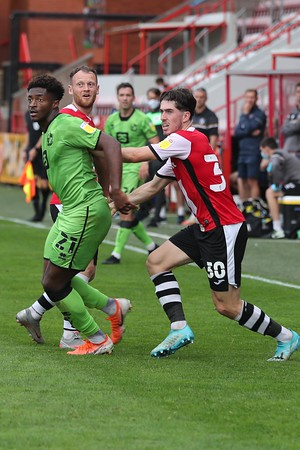 Match 2 Exeter City v Port Vale Season 20-21