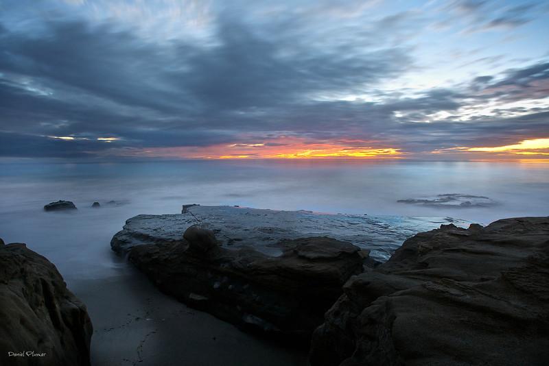 Wind And Sea Sunset
