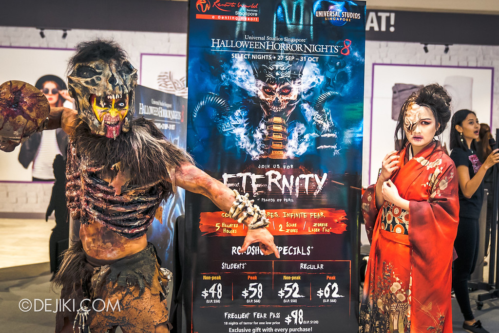 Universal Studios Singapore Halloween Horror Nights 8 HHN8 Before Dark – HHN8 Roadshow Icons