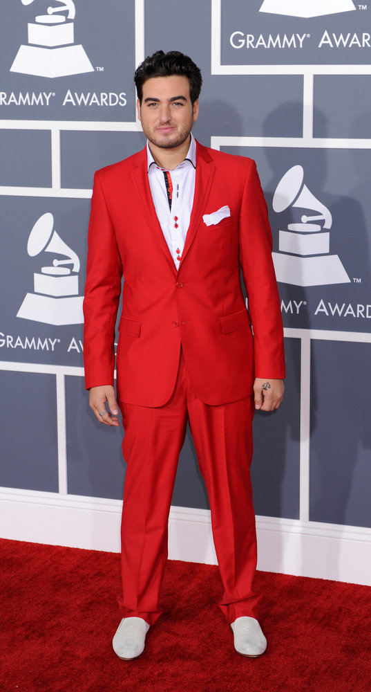 . Napone arrives to  the 55th Annual Grammy Awards at Staples Center  in Los Angeles, California on February 10, 2013. ( Michael Owen Baker, staff photographer)
