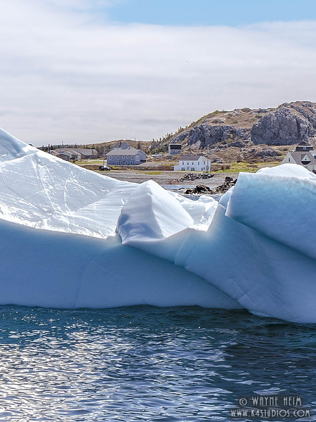Ice off the Coast   Photography by Wayne Heim