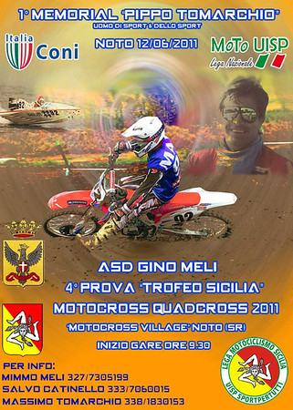 1° memorial MX  Pippo Tomarchio