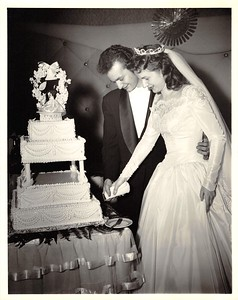 Basil & Helen Palmeri's Wedding - January 25, 1958