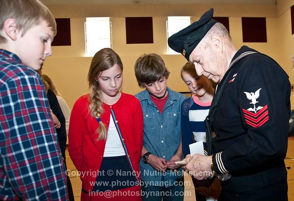 Albert Bridge School Veterans Day