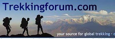 "Trekking forum is a global trekking web site with a large number of experienced trekkers. Log into <a href=""http://www.trekkingforum.com"">http://www.trekkingforum.com</a> for a visit!"