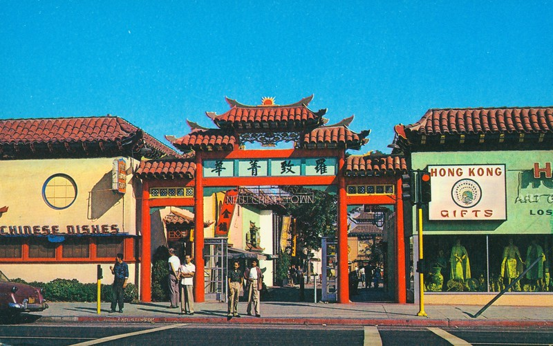 New Chinatown Gateway Entrance