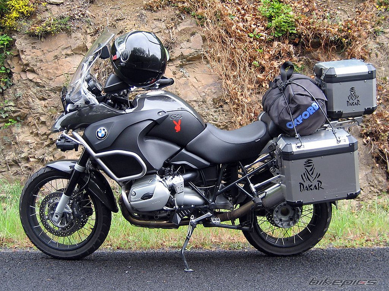 Olivier GAILLY's (from Hainaut, Belgium) 2006 BMW R 1200 GS Adventure