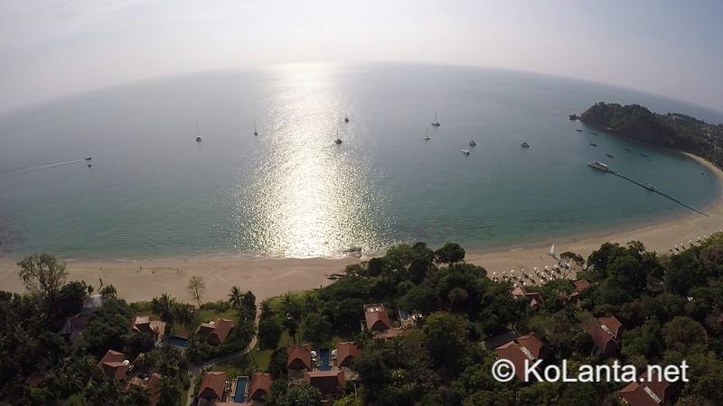 Kantiang Bay Aerial View