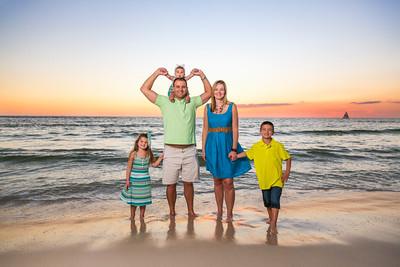 The Da Silva Family Panama City Beach 2015