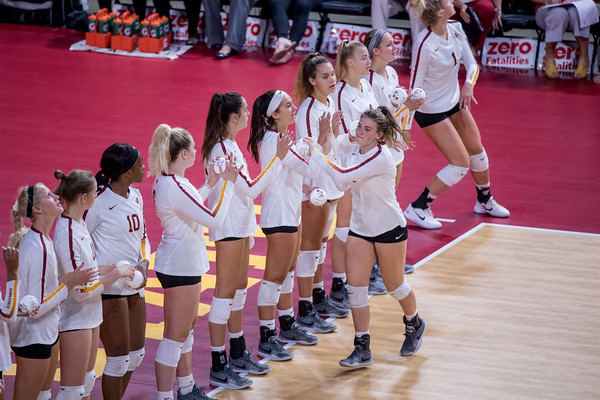 ISU Volleyball vs Oregon State 08/25/18