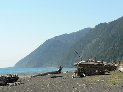 Lost Coast, California, July 2-4 2006