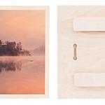 Wood Print Grain and Back Details