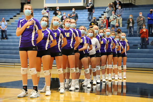 Volleyball Districts vs Comstock - KCHS 11/4/20