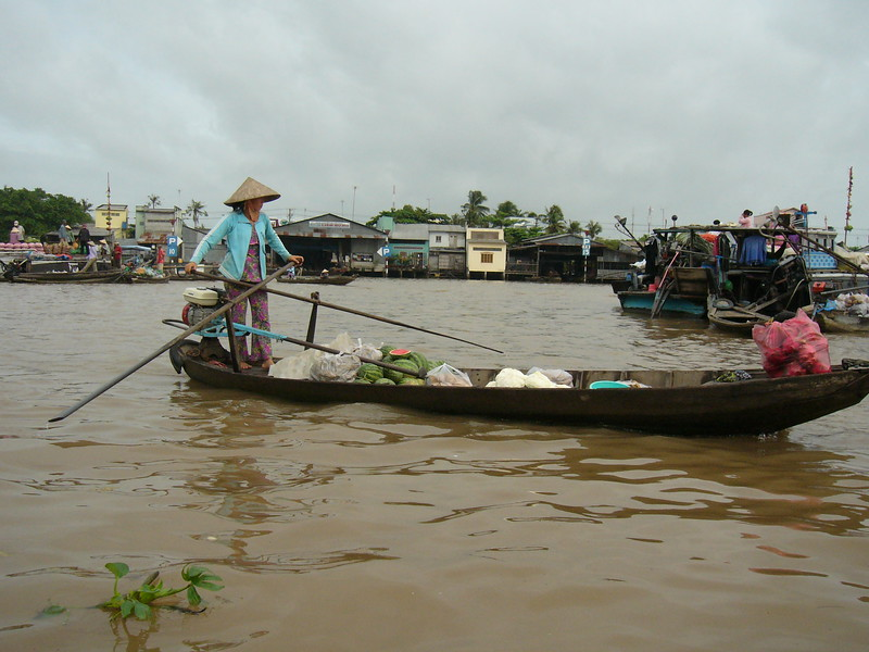 Boating at the Mekong Delta