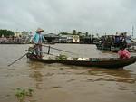 Boating at the Mekong Delta