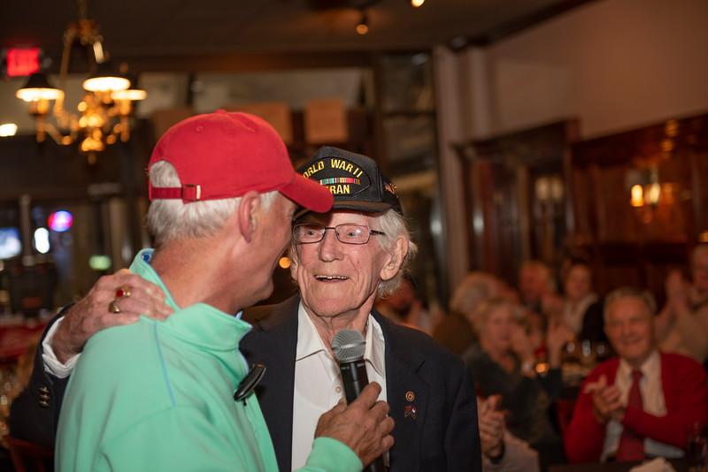 Jimmy V's Veterans day 11-11-2019