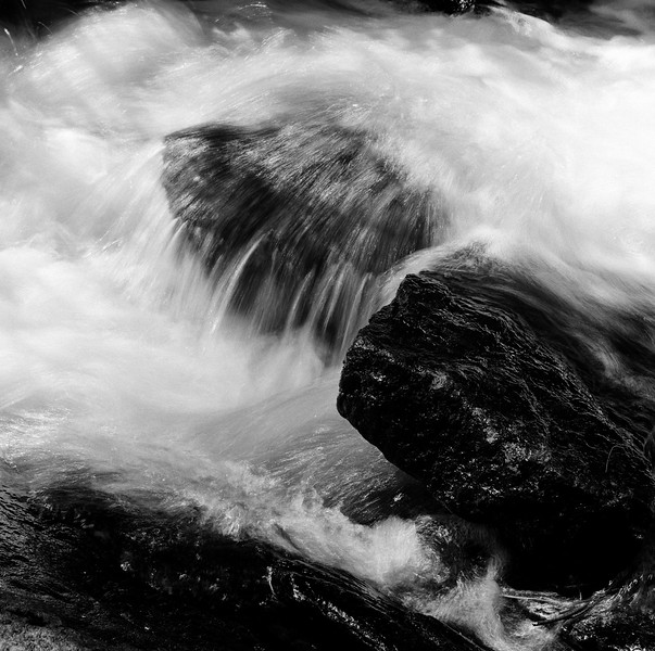 Mill Creek, Lake Luzerne, NY. June 2000