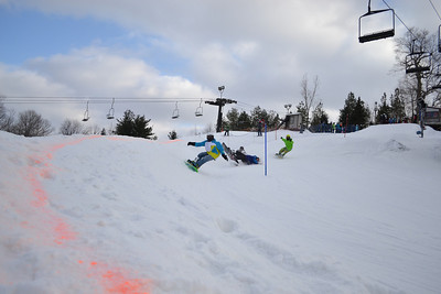 Skier Boarder Cross