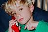 Aaron on phone