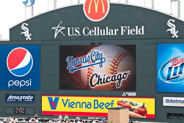 White Sox -vs- City Royals 8-19-2009