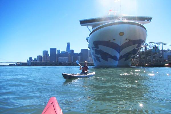 SF Bay Kayak: Oct 22, 2017