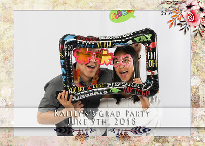 Kaitlyn's Grad Party - June 9th, 2018