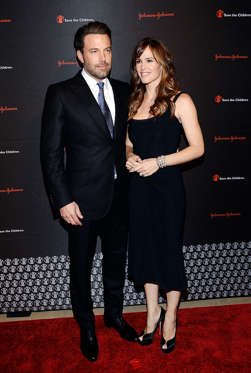 . Actor, filmmaker and Eastern Congo Initiative founder, Ben Affleck and wife actress Jennifer Garner attend the 2nd Annual Save the Children Illumination Gala at The Plaza Hotel on Wednesday, Nov. 19, 2014, in New York. (Photo by Evan Agostini/Invision/AP)