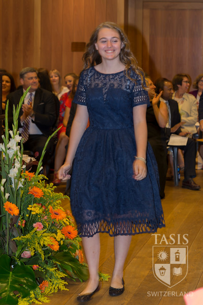 TASIS Middle School Moving-Up Ceremony