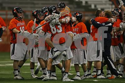4/16/2013 - NCAA D1 - Hobart College vs. Syracuse University - Carrier Dome, Syracuse, NY
