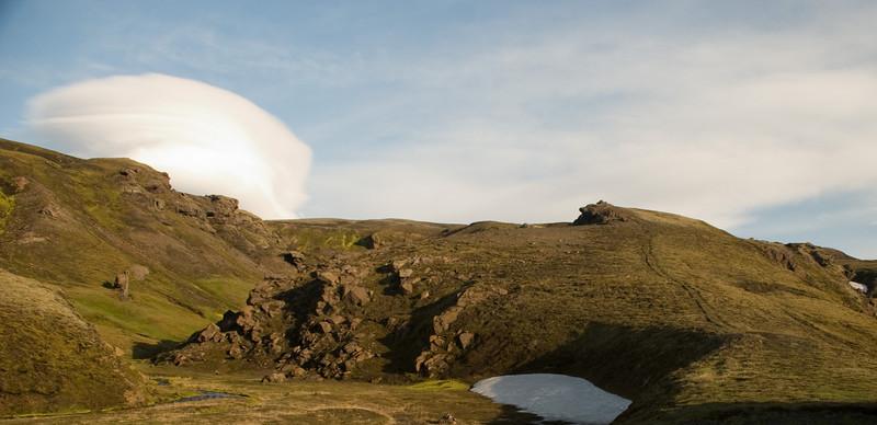 Leiðin upp á Veðurháls